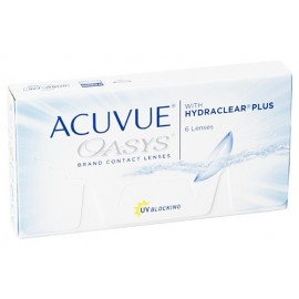 купить ACUVUE Oasys with Hydraclear Plus (6шт)