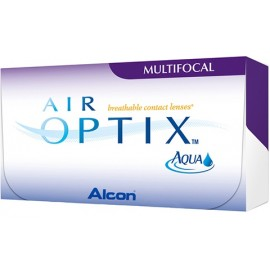 Air Optix Multifocal (3шт+1шт)