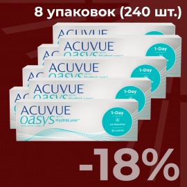 Acuvue Oasys 1-Day (240 шт.)