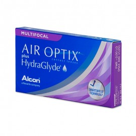 купить Air Optix plus Hydraglyde Multifocal (3шт)